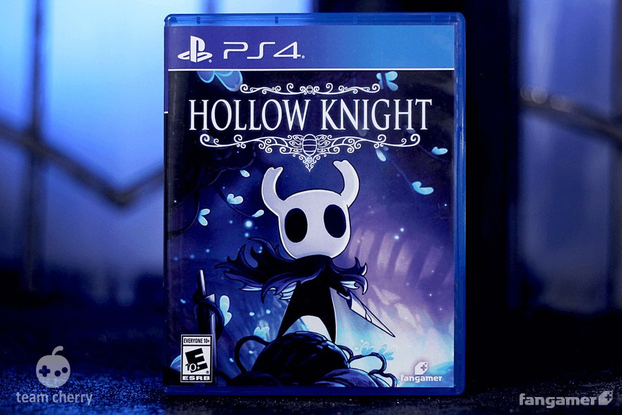 0a6b34f30 Hollow Knight Physical Standard Edition PS4 PlayStation 4 © Fangamer