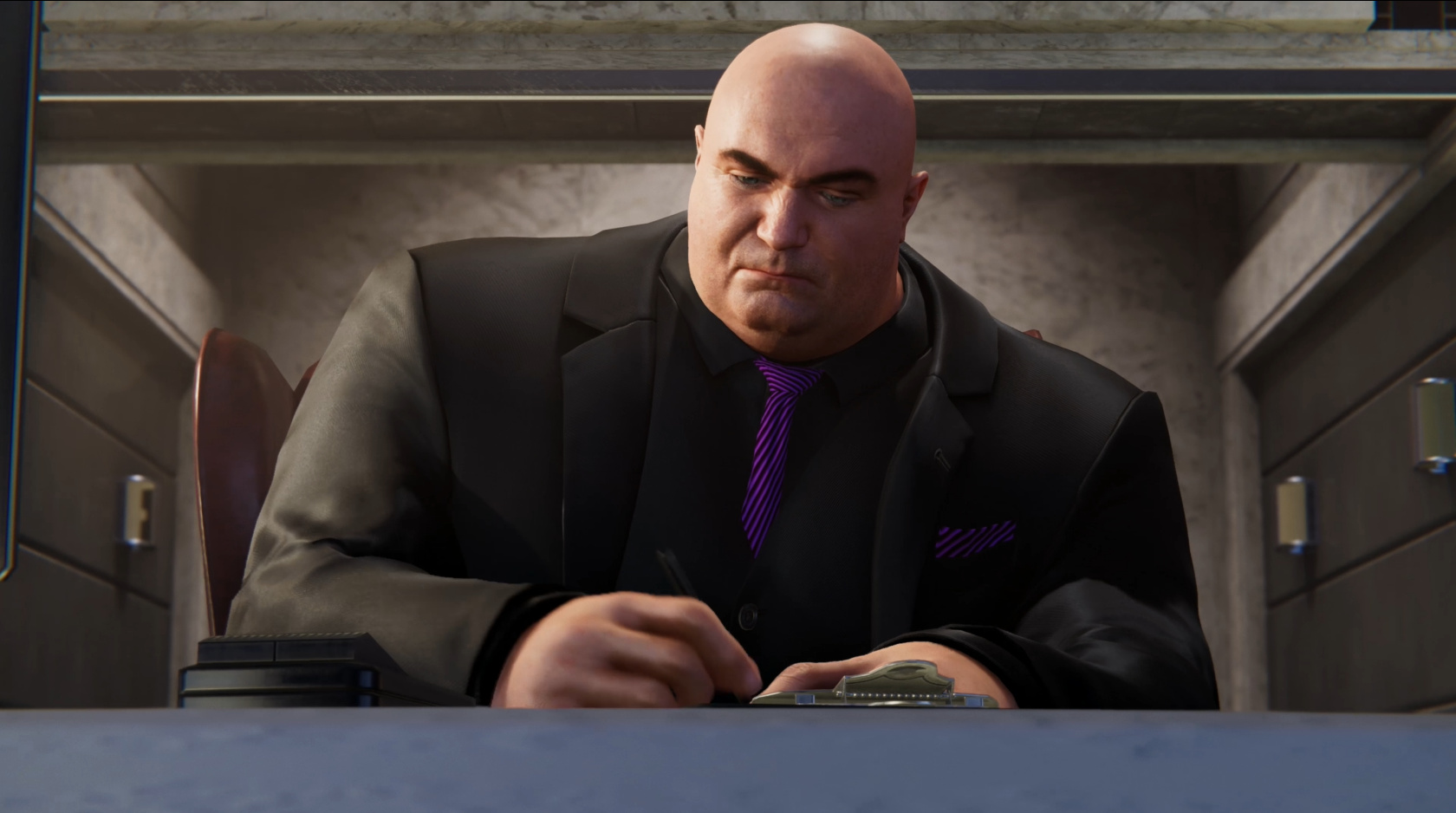 Image result for wilson fisk spiderman ps4