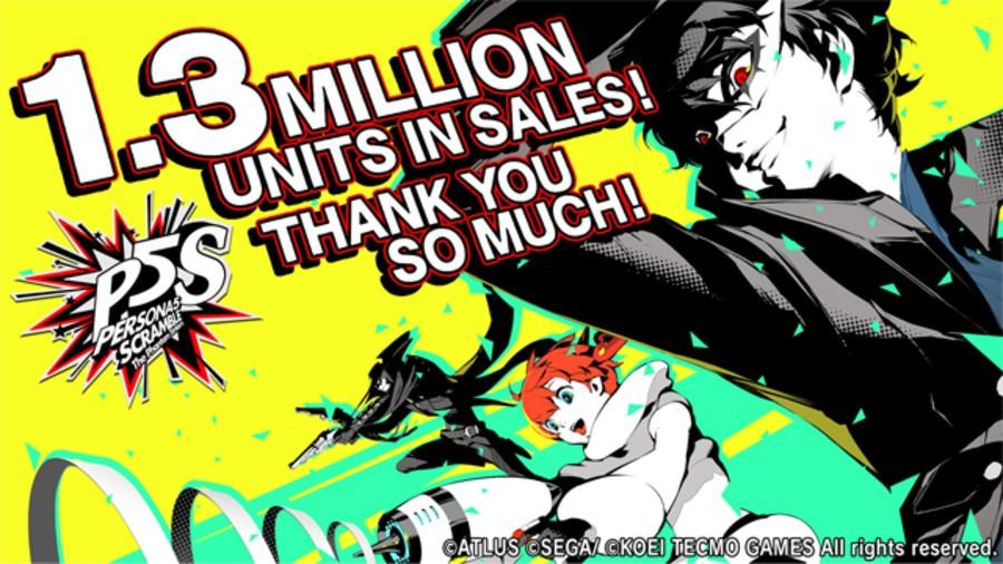 Persona 5 Strikers Sales