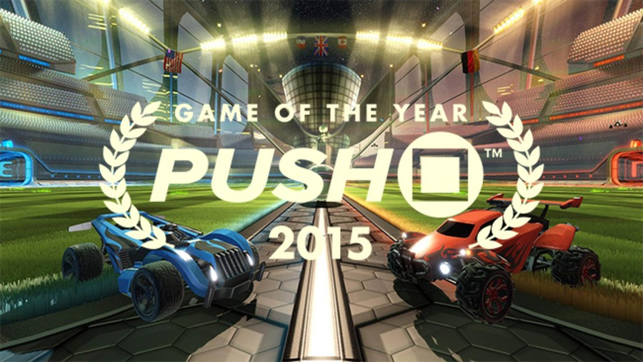 Rocket League PS4 PlayStation 4 Game of the Year 2015 Push Square
