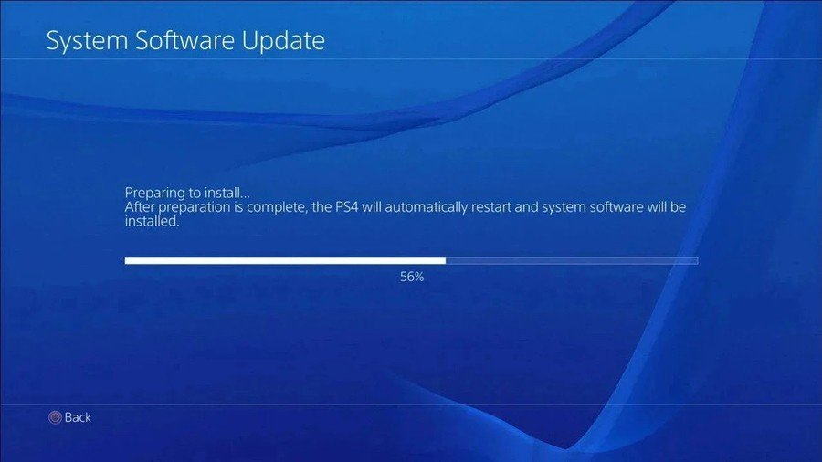 PS4 PlayStation 4 Firmware Update 8.03