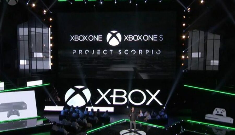 PlayStation 4K PS4K Xbox One Project Scorpio 1