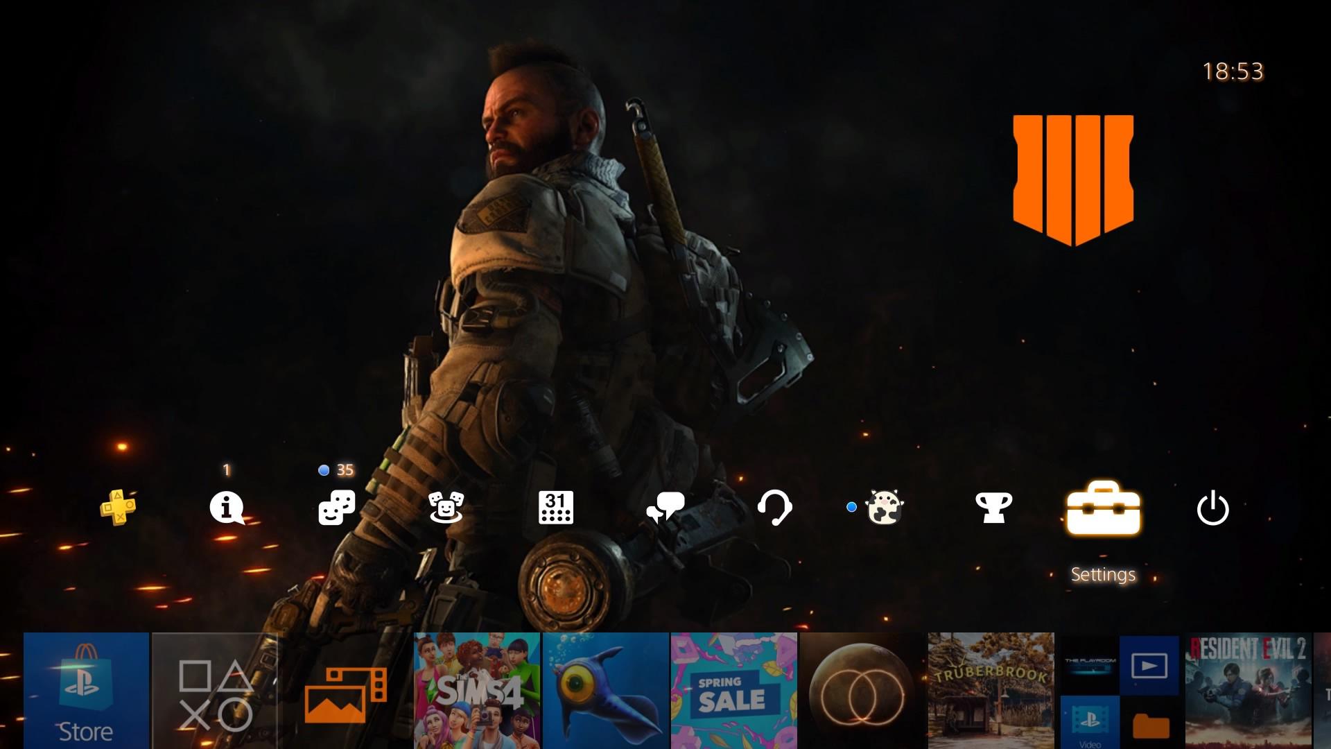 call of duty black ops 4 launch theme.original - PlayStation 4 - Guida: i migliori temi gratuiti da scaricare