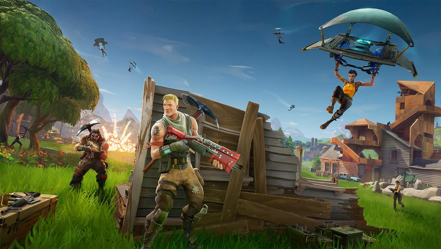 Sony PS4 Fortnite PlayStation Cross-Console 1