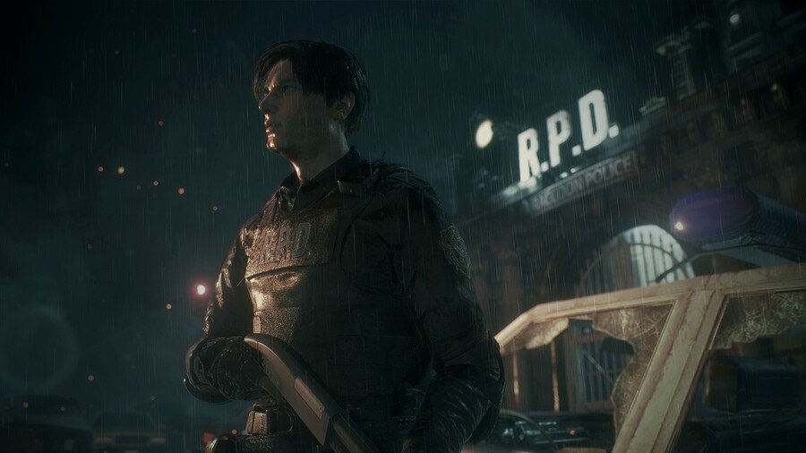 Resident Evil 2 Hands On PS4 PlayStation 4 3