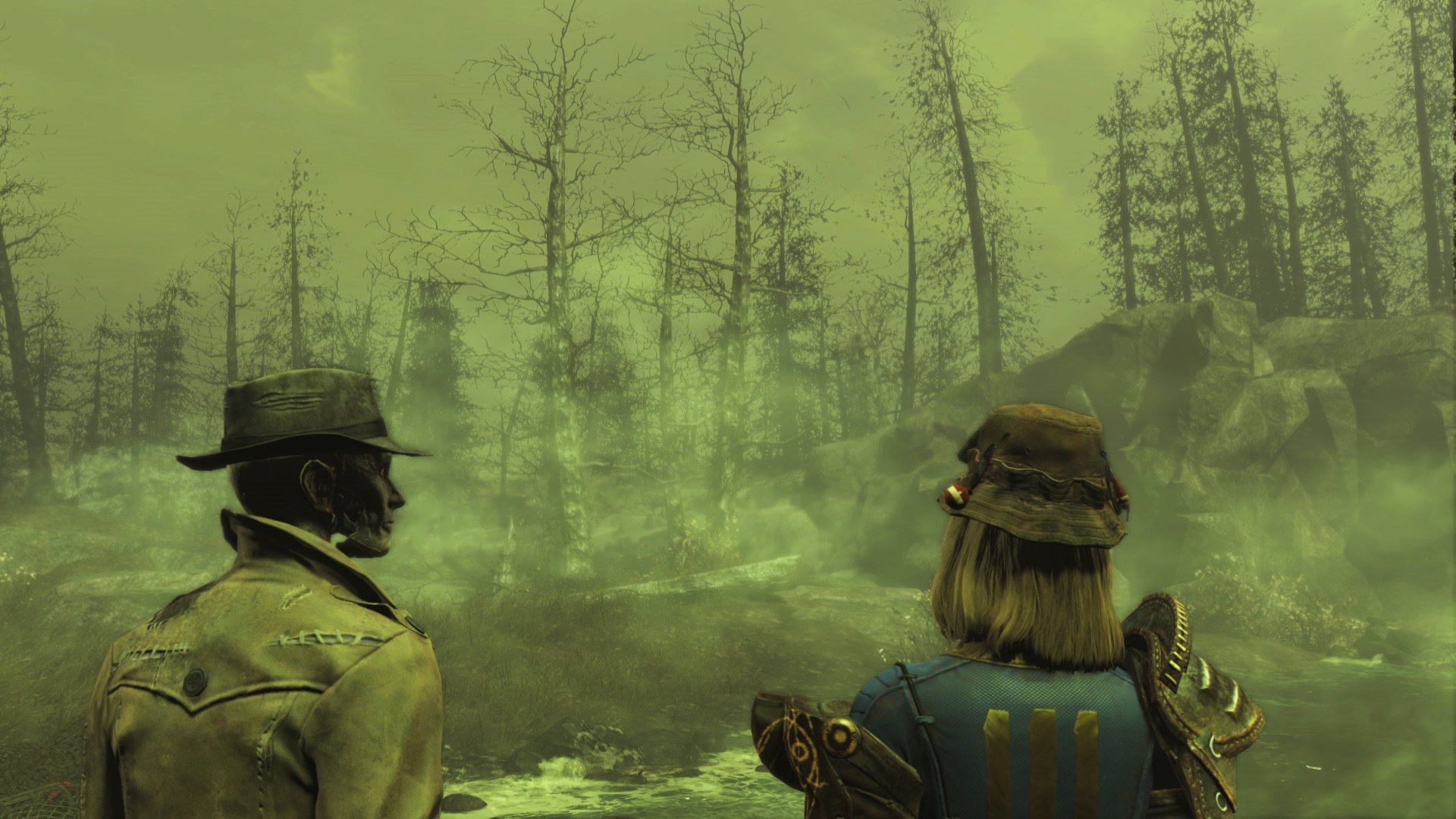 Hands On Fallout 4 Far Harbor Removes Fog To Boost Ps4 Framerate