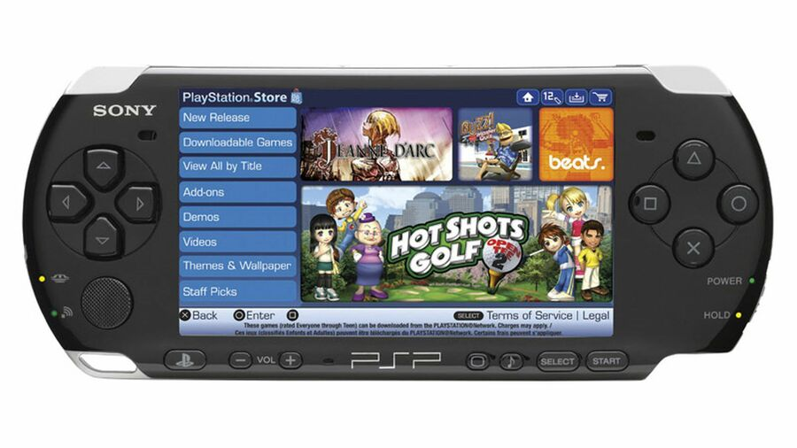 PSP PlayStation Portable Store
