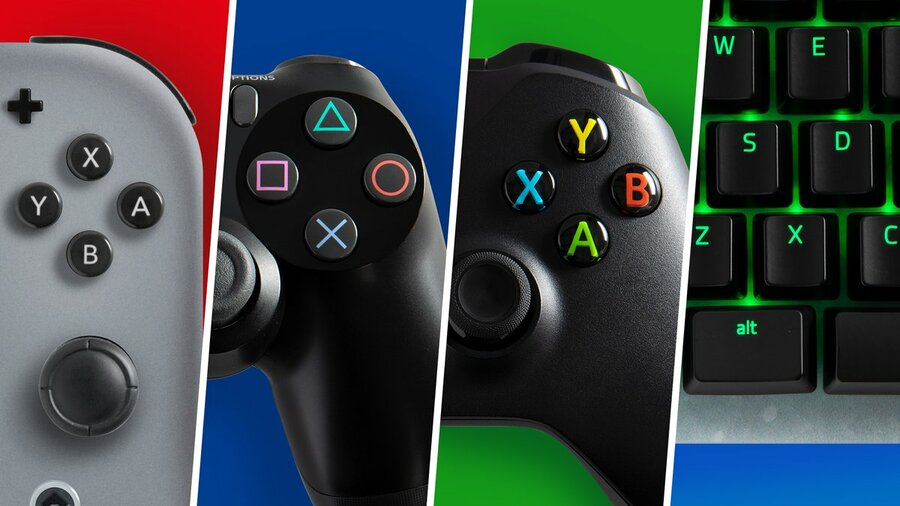 PlayStation X Button Cross Xbox