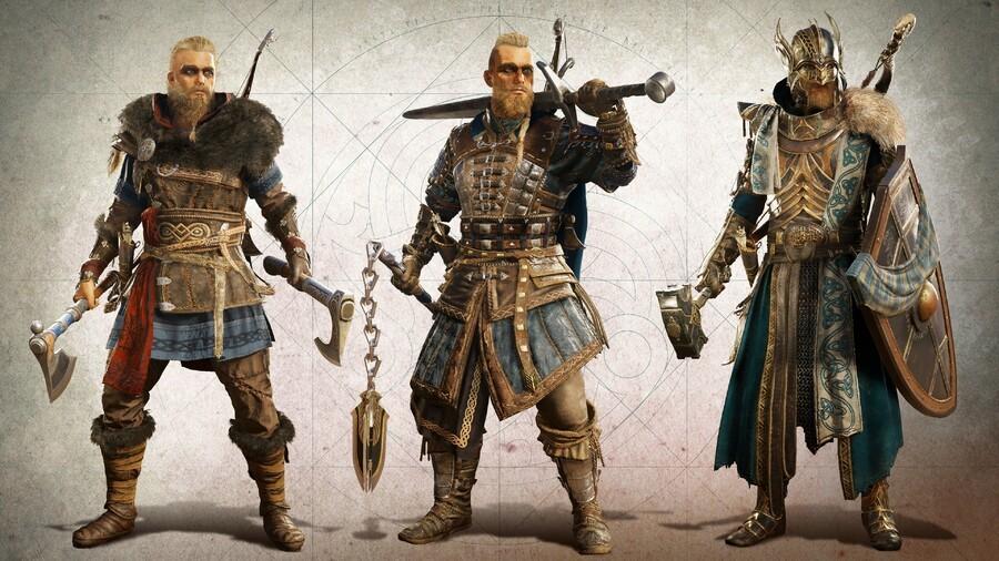 Assassin's Creed Valhalla Armor Sets