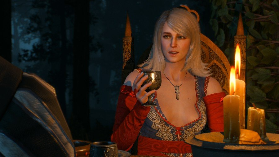 The Witcher 3 Keira Romance