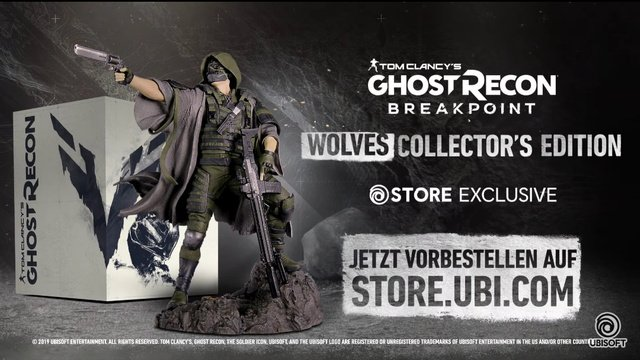 Ghost Recon Breakpoint leaks, Wolves Collector's Edition pictured