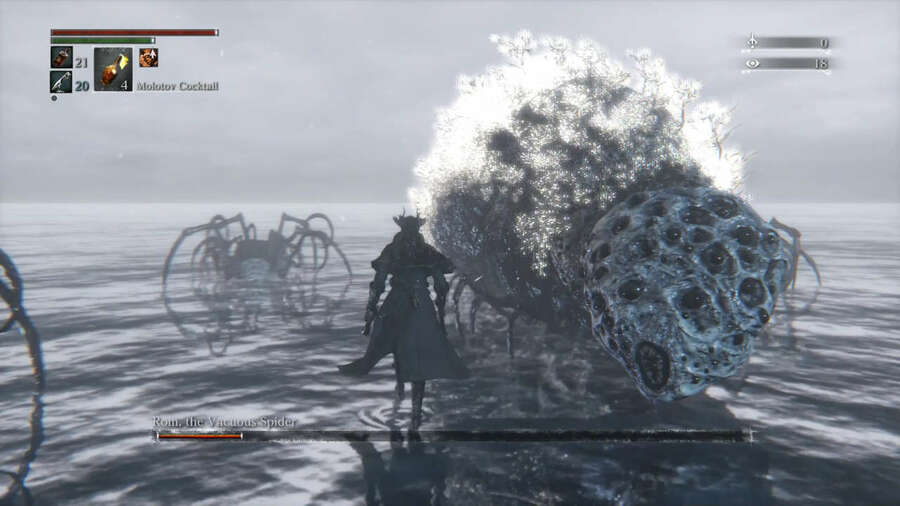Rom the Vacuous Spider Bloodborne PS4 Boss Guide Tips