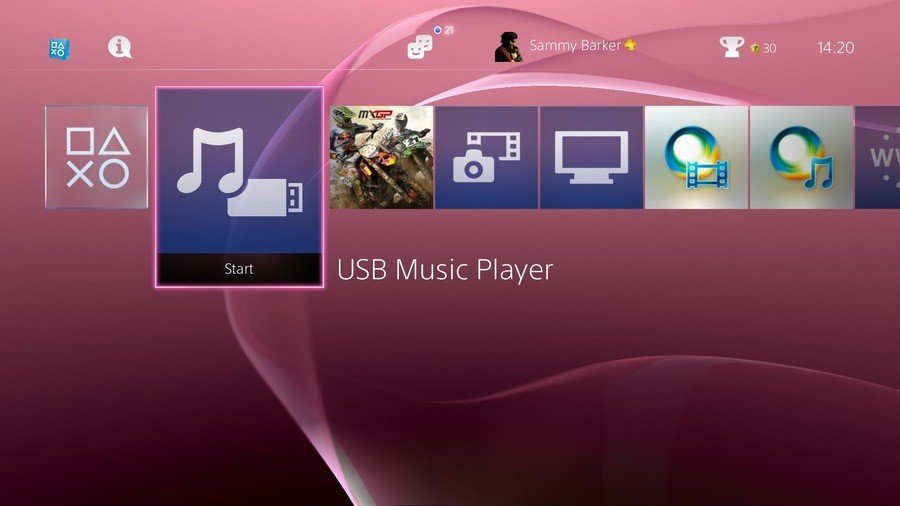PS4 USB Music Player Guide