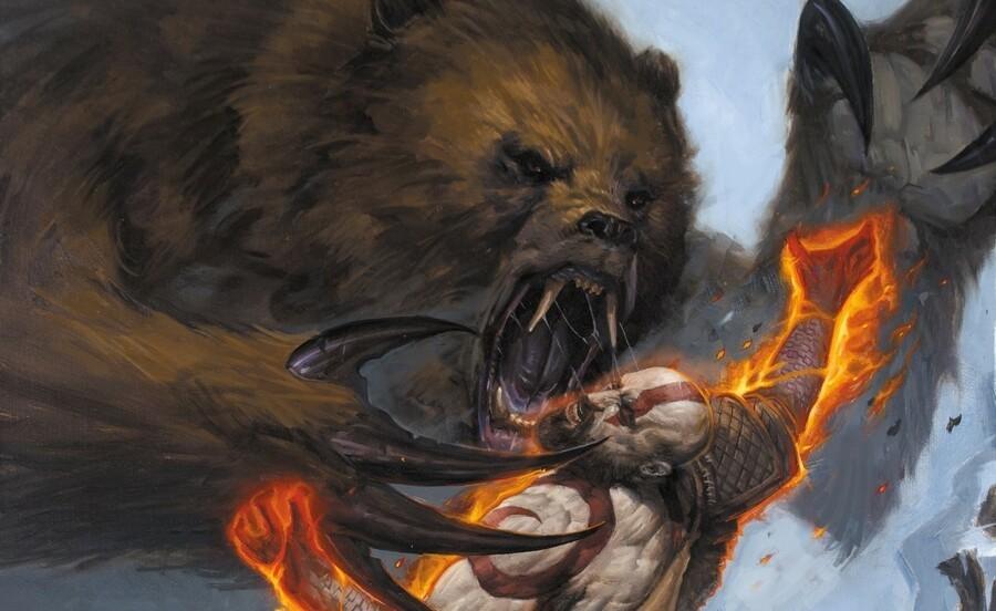 God of War Comic PS4 PlayStation 4 1