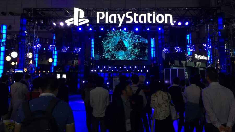 Sony Tokyo Game Show PS4 PlayStation 4