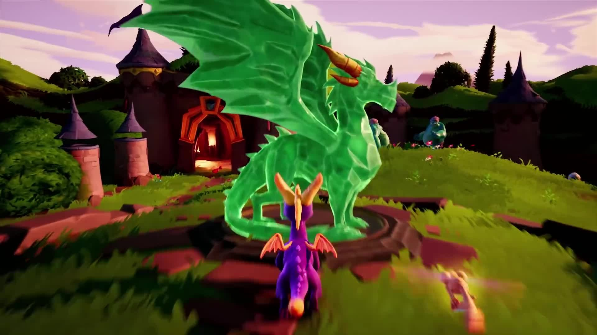 Spyro Reignited Trilogy All Dragon Statue Locations In Spyro The Dragon Guide Push Square Tree tops is a level in spyro the dragon, part of the realm of beast makers. spyro reignited trilogy all dragon