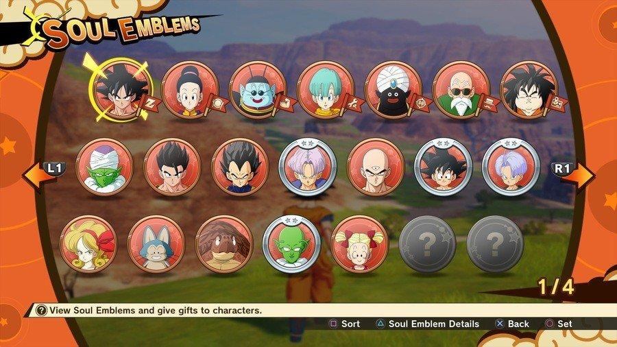 Dragon Ball Z Kakarot Soul Emblems How to Get Soul Emblems