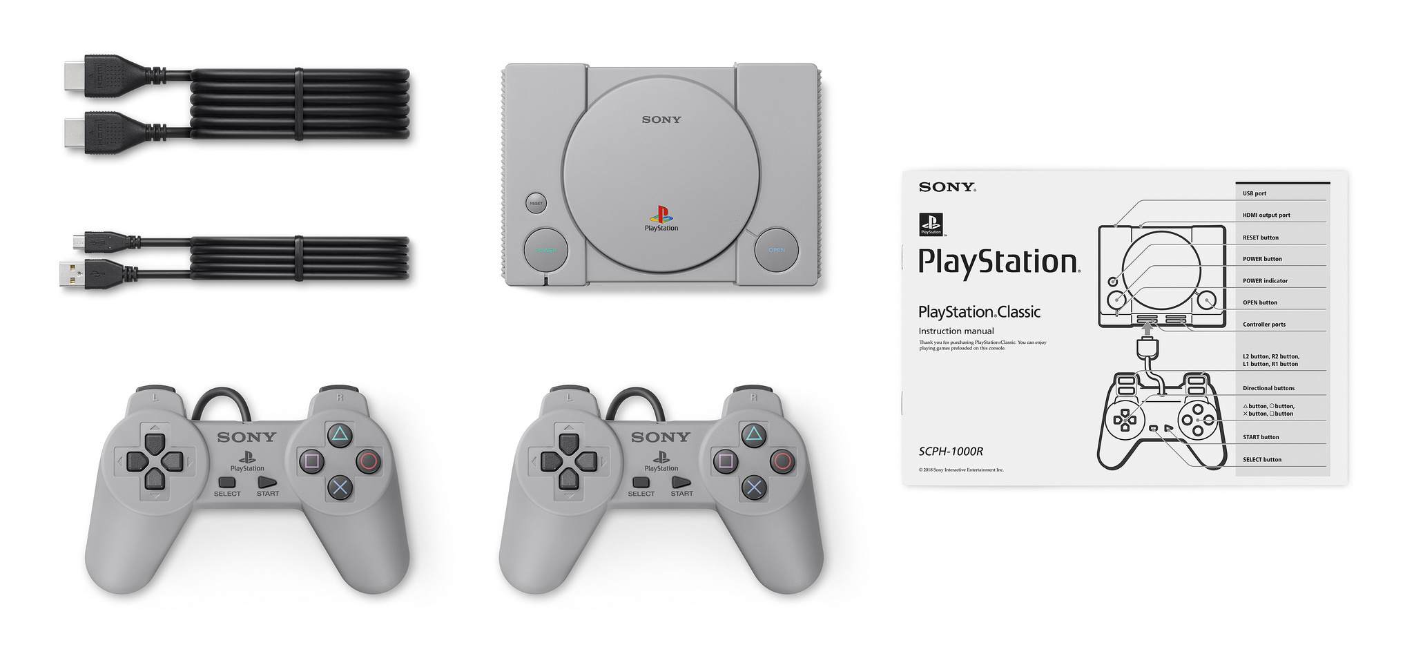 Sony Announces PlayStation Classic Mini Console, Launches 3rd