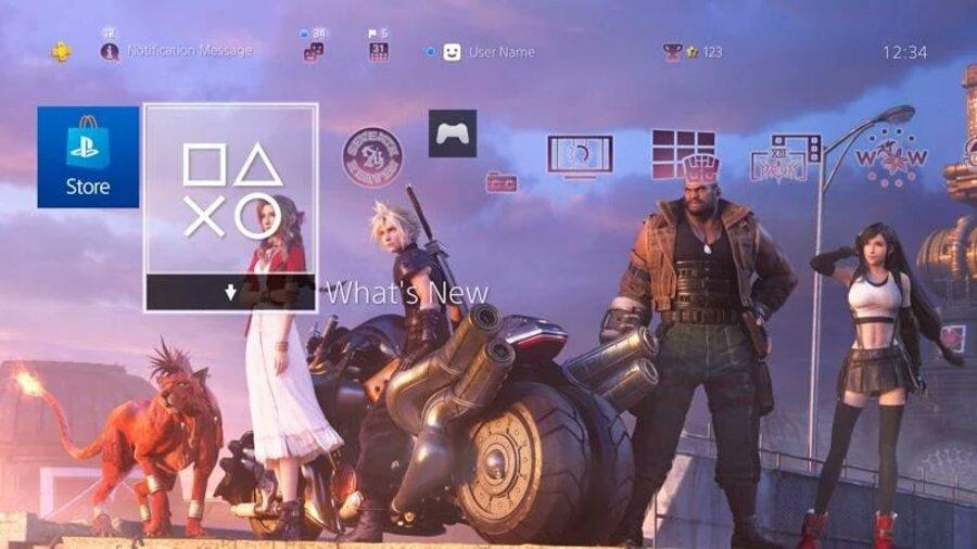 Final Fantasy VII Remake Demo PS4 Theme