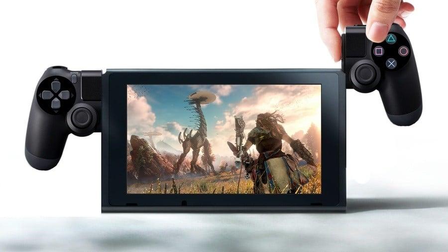 Nintendo Switch PS4 1