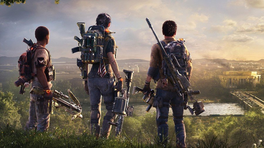 The Division 2 Open Beta Ps4