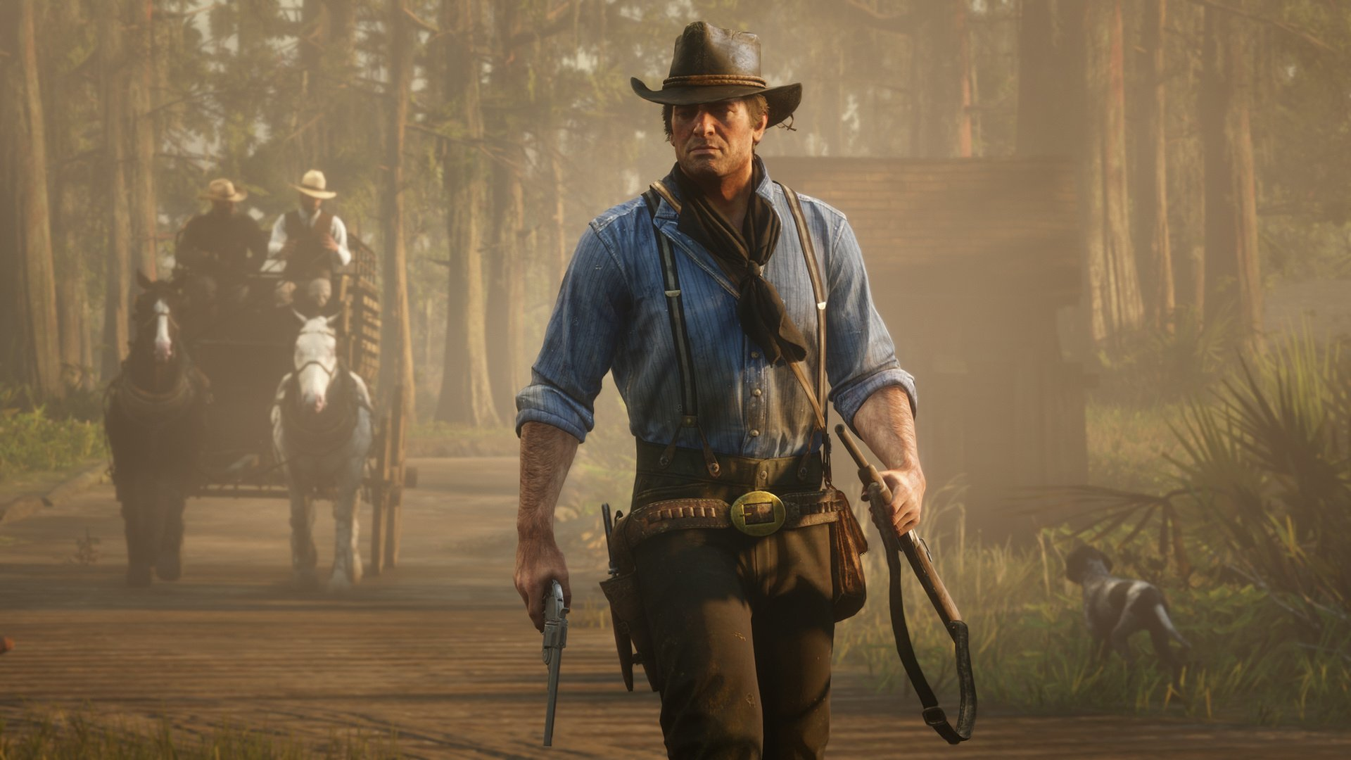 Ps4 games like red dead redemption