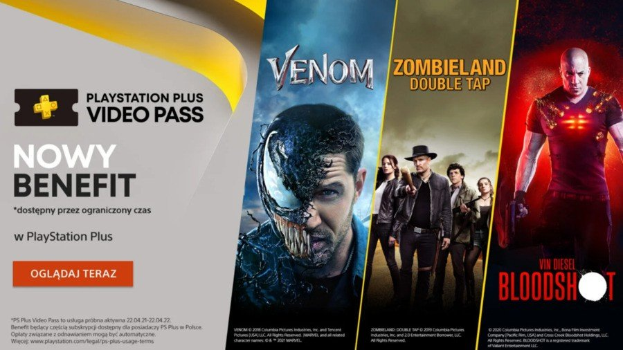 PS Plus Video Pass Poland
