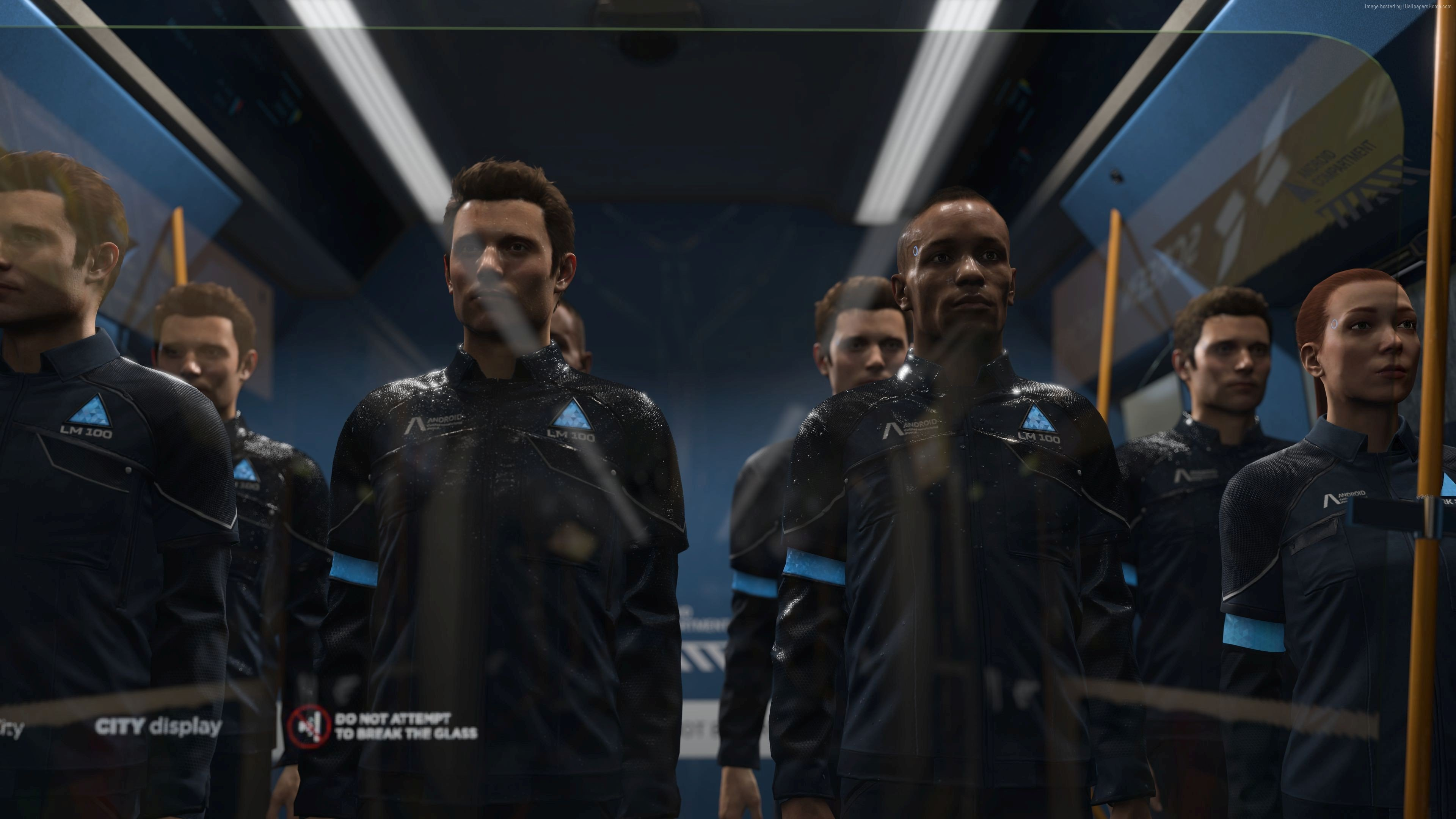 Detroit: Become Human - Full Cast List - Guide - Push Square