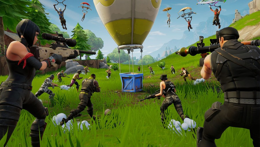 Fortnite - Where to Search Between a Bear, Crater, and a Refrigerator Shipment Guide 1