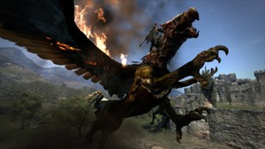 There's More Than A Sniff Of 'Monster Hunter' To The Artwork In Dragon's Dogma.
