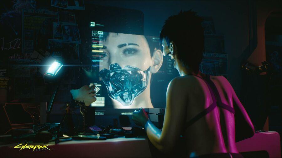 Cyberpunk 2077 Lady Gaga Rumour PS4 PlayStation 4