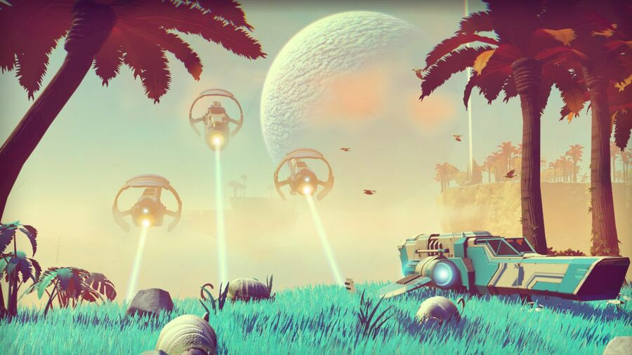 No Man's Sky The Abyss PS4 PlayStation 4