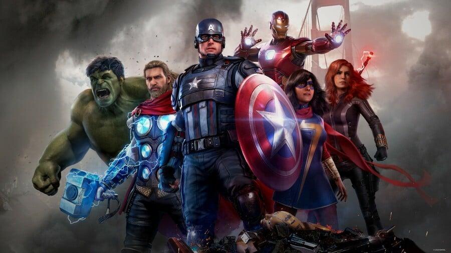Marvel's Avengers PS4 File Size