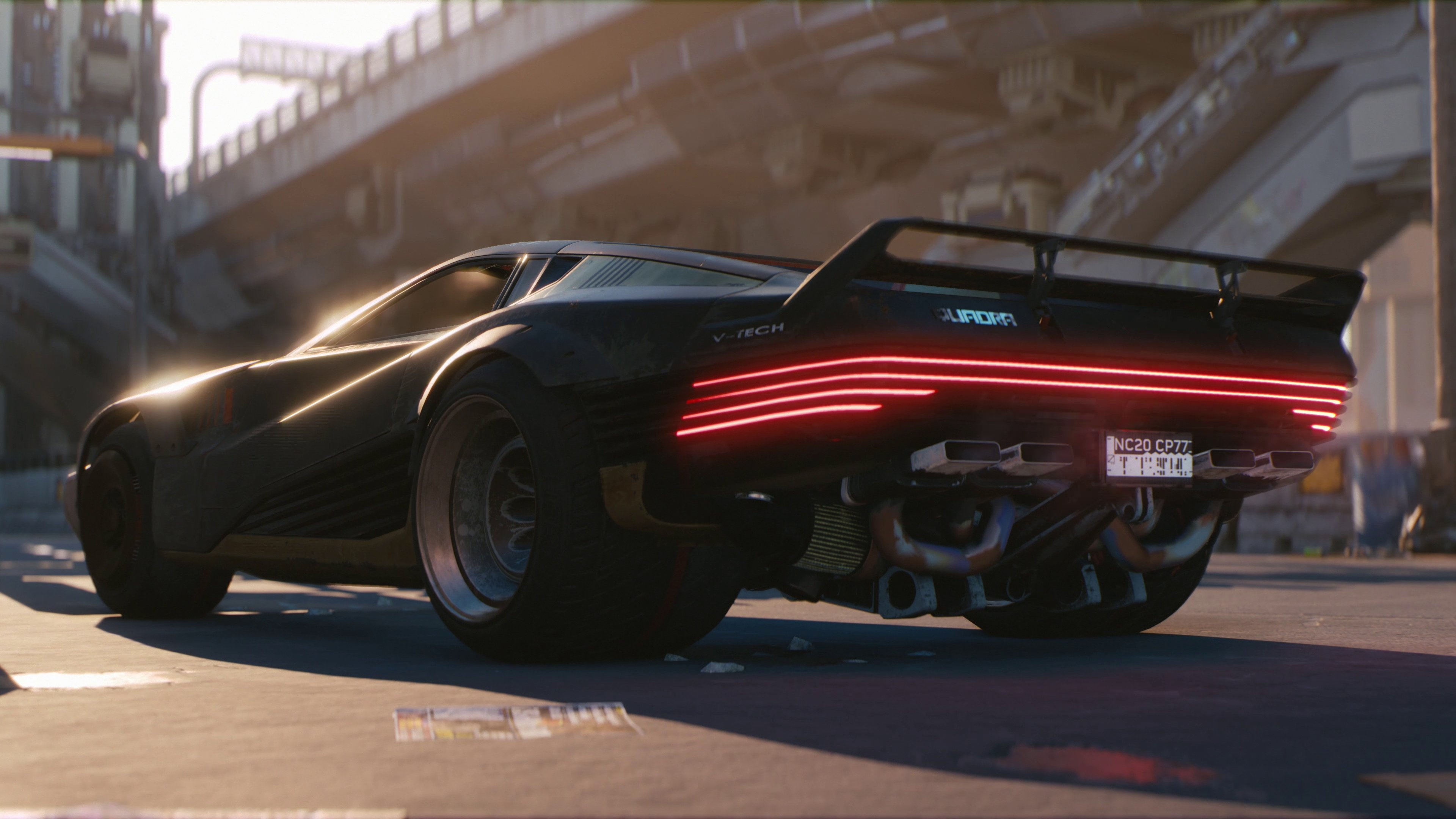 Cyberpunk 2077 Cars and Motorcycles All Have Radios So You Can Rock Out in Night City