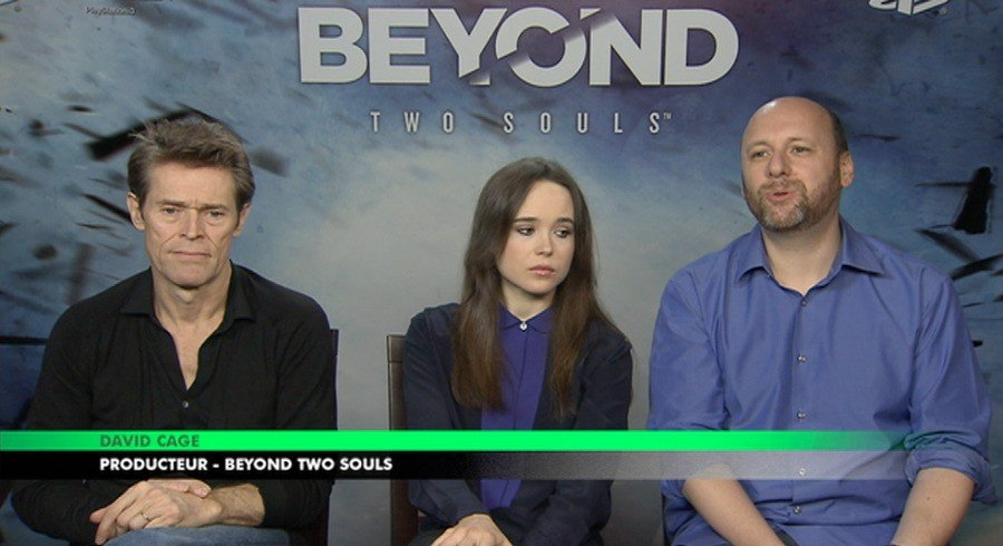 David Cage Quantic Dream Ellen Page