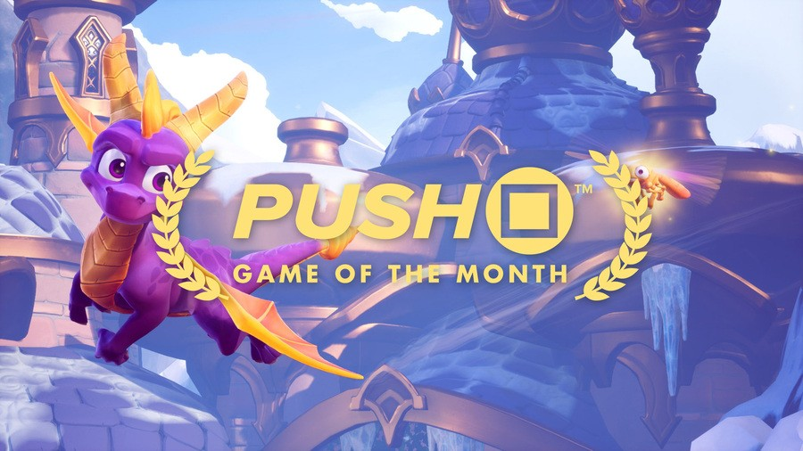 spyro reignited trilogy ps4 game of the month