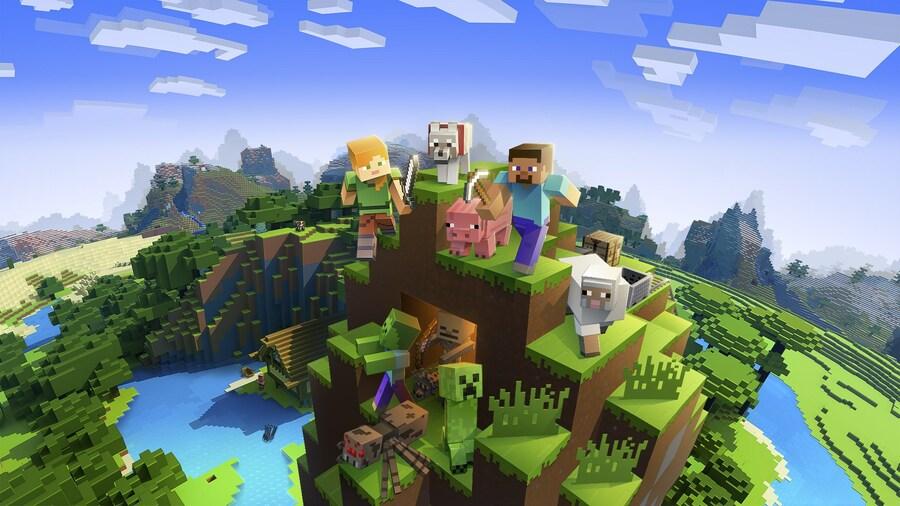 Minecraft PS3 PS Vita Sony 1