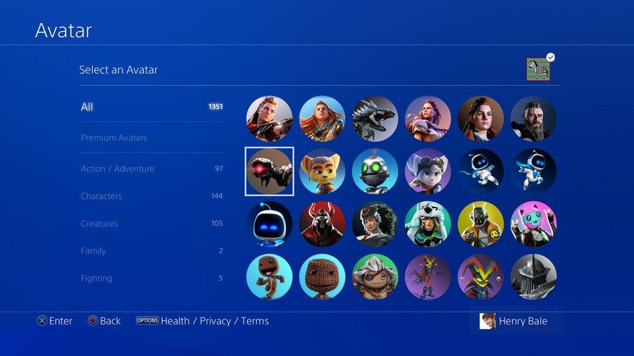 PS5 Avatars