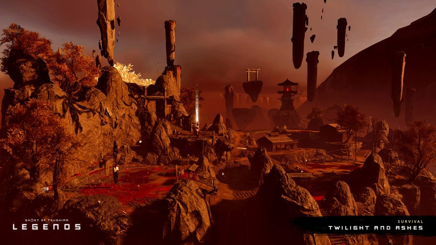 Ghost Of Tsushima Legends New Map