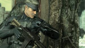 Snake's brushing up on his CQC