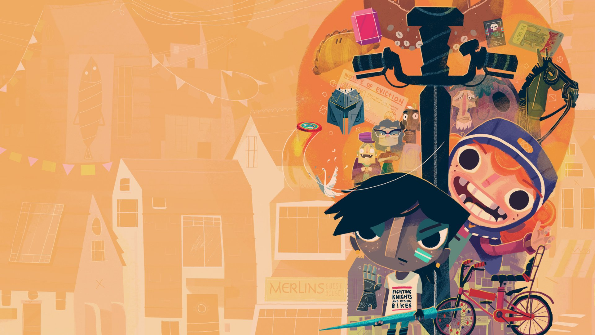 Interview: Knights and Bikes Creators Reminisce About Childhood Memories, Kickstarter, and Petting Geese