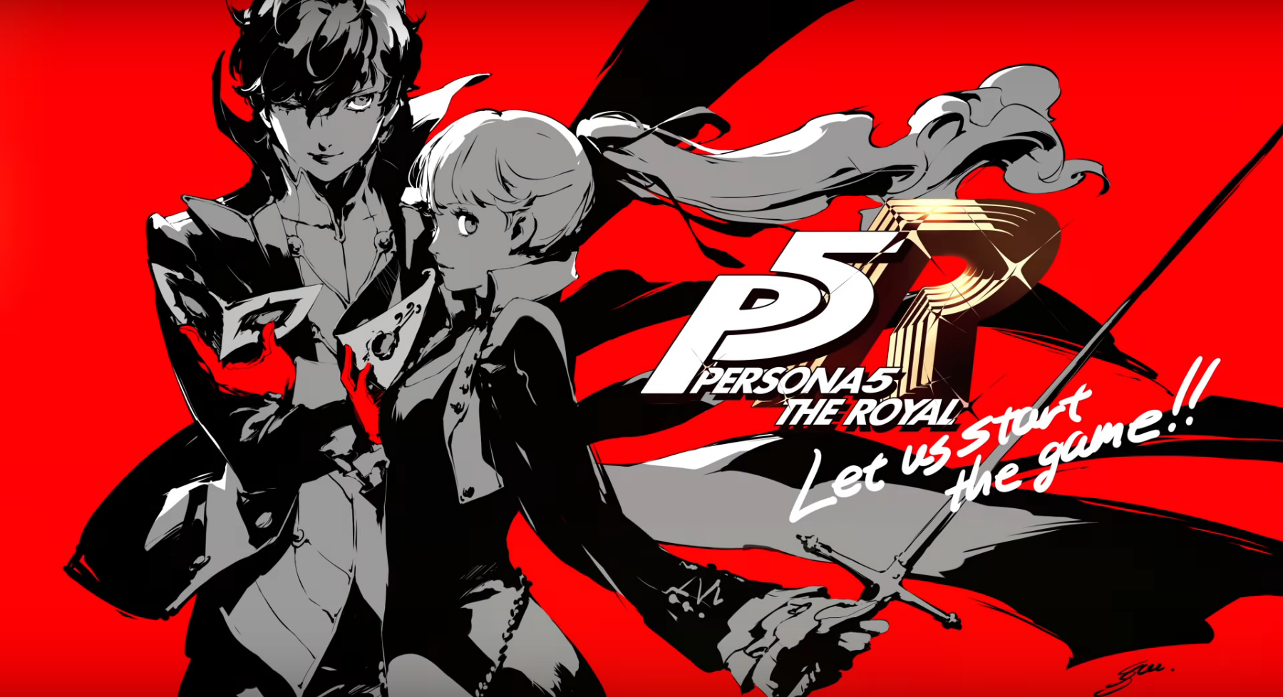 Persona 5 Royal Launch Artwork Is Worthy of Being Your ...