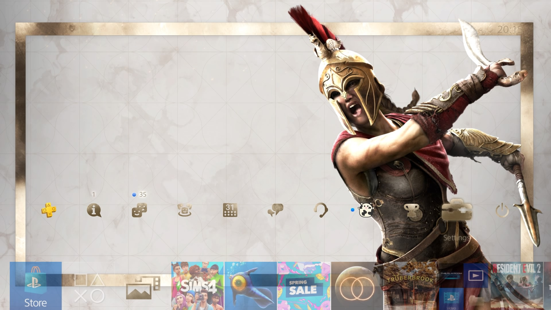 assassins creed odyssey theme.original - PlayStation 4 - Guida: i migliori temi gratuiti da scaricare