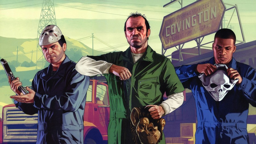 Grand Theft Auto 5 Gta5 Ps4 Playstation 4 1