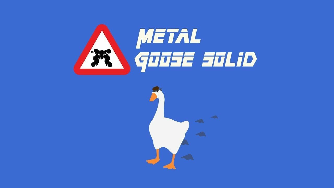 Random: Untitled Goose Game Infiltrates Metal Gear Solid in Incredible Dreams Creation