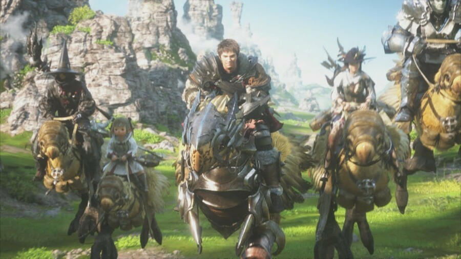 Final Fantasy 14 PS5 PlayStation 5 1