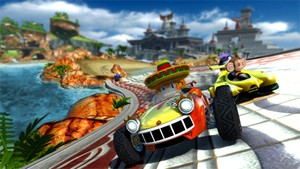 Could a Sonic & SEGA All-Stars Racing sequel be speeding onto PS Vita?