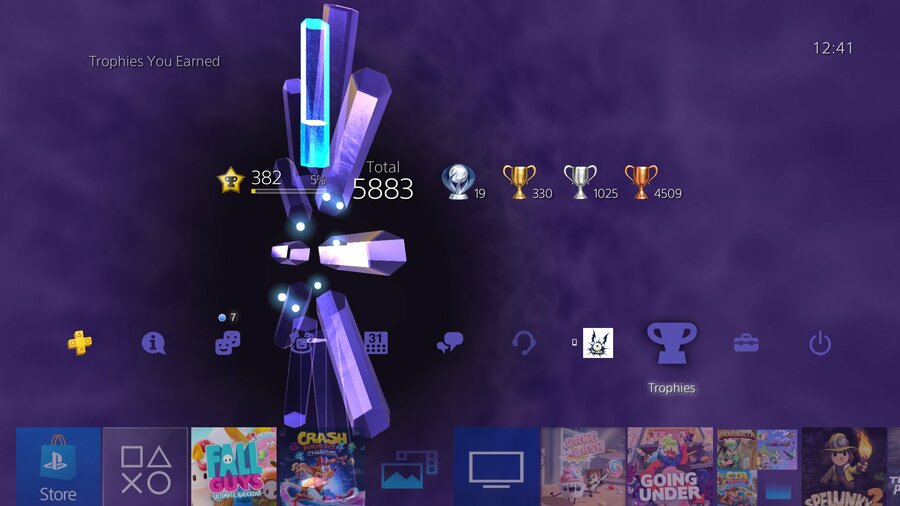 PS4 PlayStation 4 Trophies Update 1