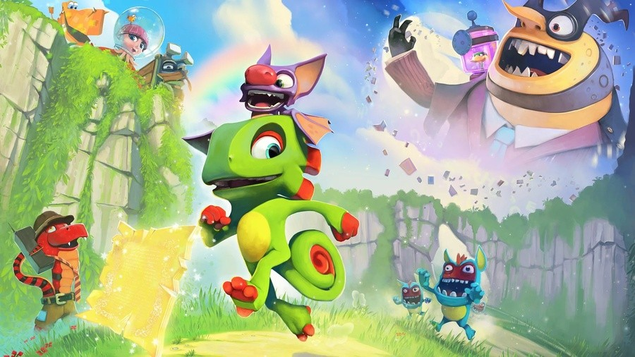 Yooka-Laylee Impossible Lair PS4 PlayStation 4