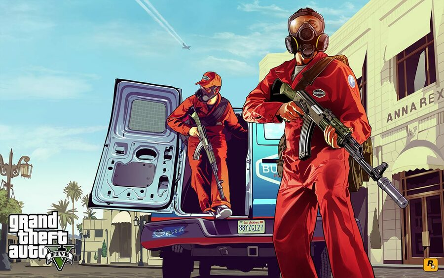 Grand Theft Auto 6 PS4 PlayStation 4 1